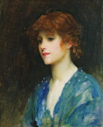 Venetta | Sir Samuel Luke Fildes | oil painting