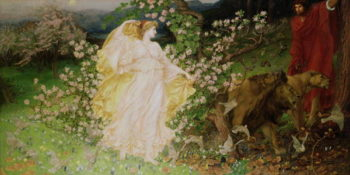 Venus and Anchises 1889 90 | Sir William Blake Richmond | oil painting