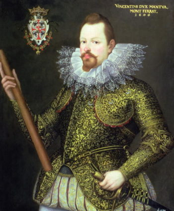 Vicenzo Gonzaga Duke of Mantua 1600 | Frans I Pourbus | oil painting