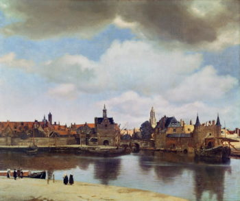 View of Delft 1660 61 | Jan Vermeer | oil painting