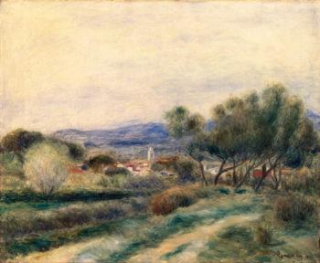 View of La Seyne Provence 1890 | Pierre Auguste Renoir | oil painting