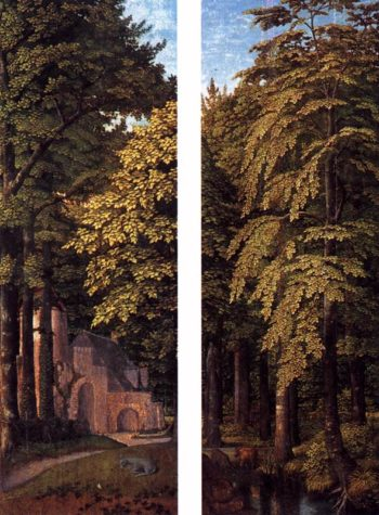 Forest scenes 1505-15 | Gerard David | oil painting