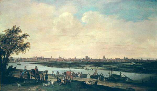 View of Paris | Jan Siberechts | oil painting