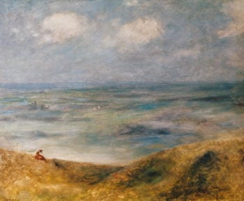 View of the Sea Guernsey | Pierre Auguste Renoir | oil painting