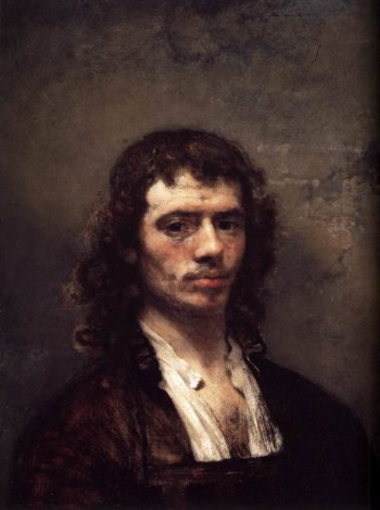 Self Portrait 1645 | Carel Fabritius | oil painting