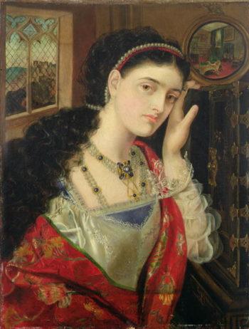Viola | Emma Sandys | oil painting