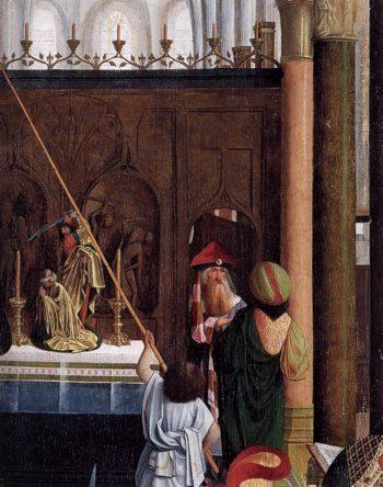 The Holy Kinship (detail) 1485-95 | Geertgen Tot Sint Jans | oil painting