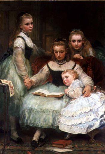 Walker Sisters | James Sant | oil painting
