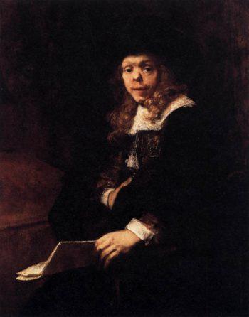 Portrait of Gerard de Lairesse 1665-67 | Aert De Gelder | oil painting