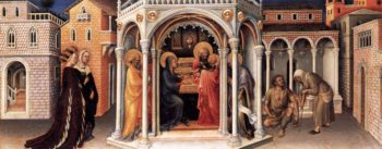 Presentation of Christ in the Temple 1423 | Gentile Da Fabriano | oil painting