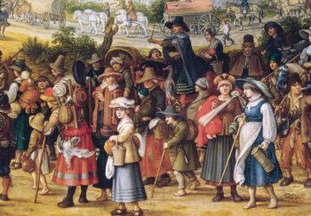 War Scene | Sebastian Vrancx | oil painting