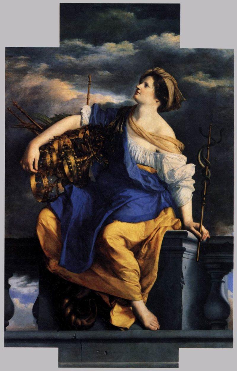 Public Felicity Triumphant over Dangers 1624-25 | Orazio Gentileschi | oil painting