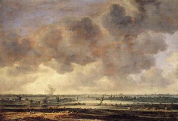View of the Haarlemmermeer 1646 | Jan Van Goyen | oil painting