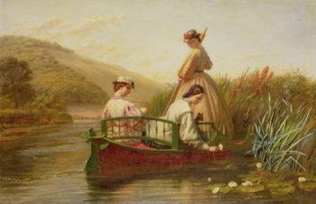 Waterlilies 1864 | Walter Field | oil painting