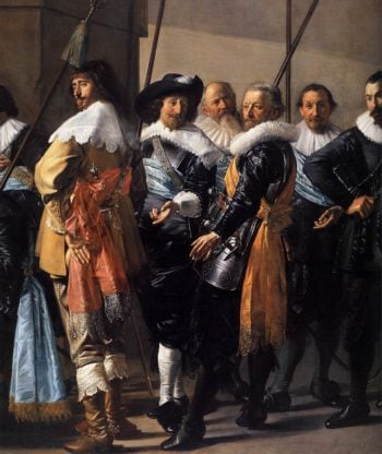 The Meagre Company (detail) 1633-37 | Frans Hals | oil painting