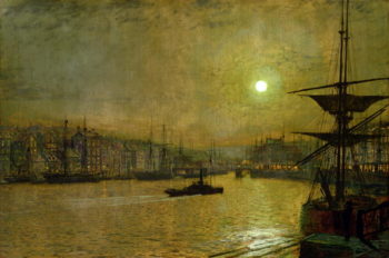 Whitby | John Atkinson Grimshaw | oil painting