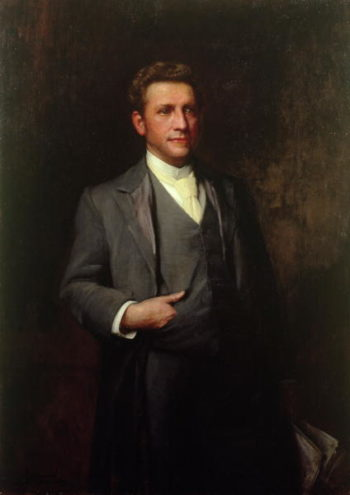 William Hesketh Lever | Sir Samuel Luke Fildes | oil painting