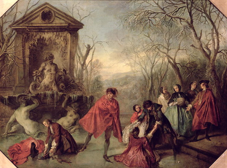 Winter 1738 | Nicolas Lancre | oil painting