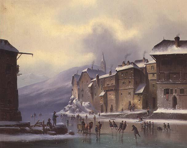 Winter Landscape | Anton Doll | oil painting