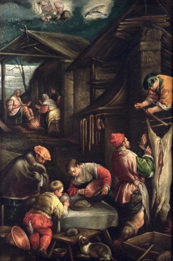 Winter | Francesco Bassano | oil painting
