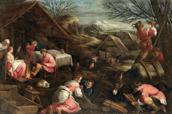 Winter | Jacopo Bassano | oil painting