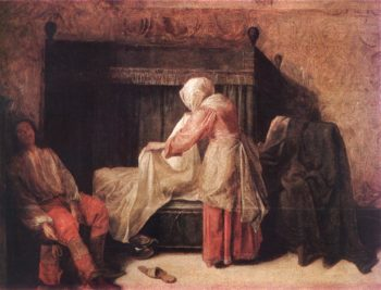 The Morning of a Young Man   Pieter De Hooch   oil painting