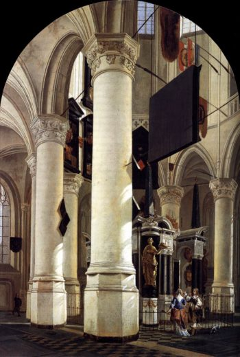 Interior of the Nieuwe Kerk