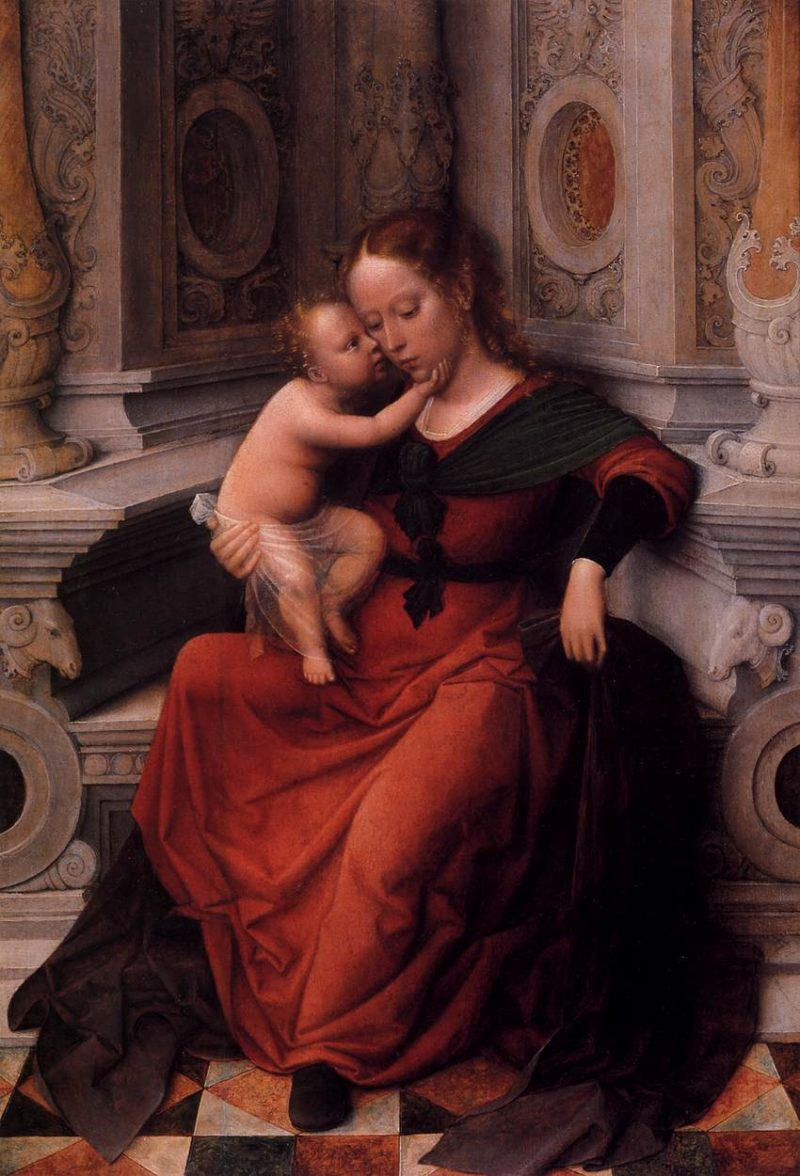 Virgin and Child 1520 | Adriaen Isenbrant | oil painting