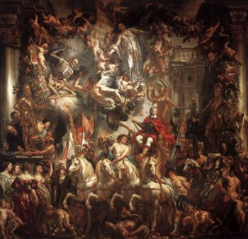 Triumph of Frederik Hendrik 1647-52 | Jacob Jordaens | oil painting