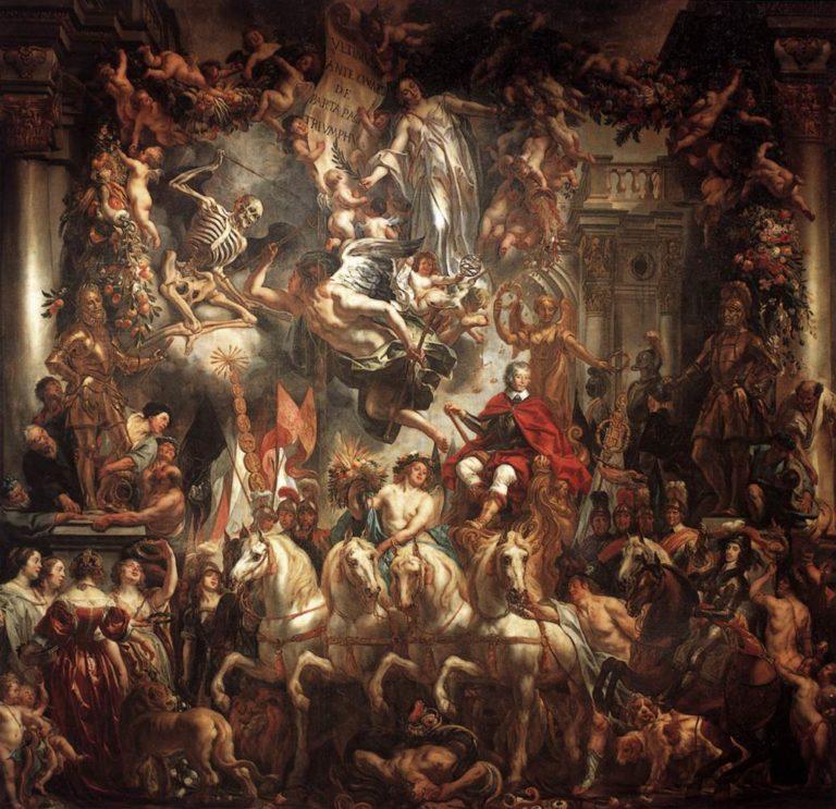 Triumph of Frederik Hendrik 1647-52 | Jacob Jordaens | oil painting