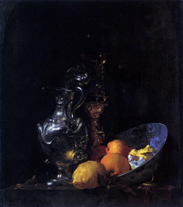 Still Life 1665 | Willem Kalf | oil painting