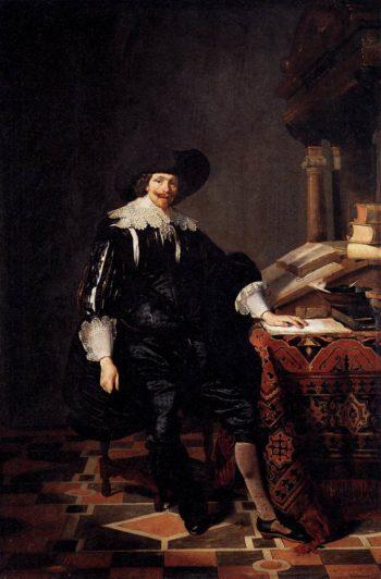 Portrait of a Gentleman 1632   Thomas De Keyser   oil painting