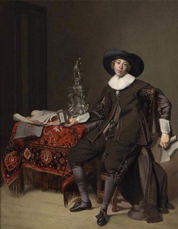 Portrait of a Silversmith 1630   Thomas De Keyser   oil painting