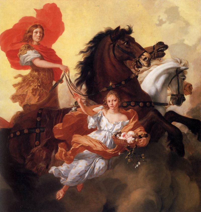 Apollo and Aurora 1671   Gerard De Lairesse   oil painting