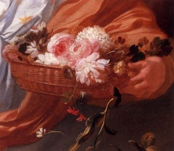 Apollo and Aurora (detail) 1671 | Gerard De Lairesse | oil painting