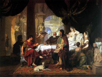 Cleopatra's Banquet 1675 | Gerard De Lairesse | oil painting