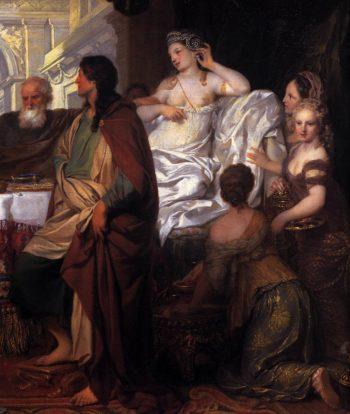 Cleopatra's Banquet (detail) 1675 | Gerard De Lairesse | oil painting