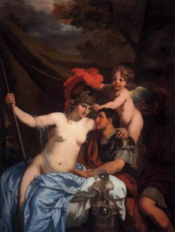 Odysseus and Calypso | Gerard De Lairesse | oil painting