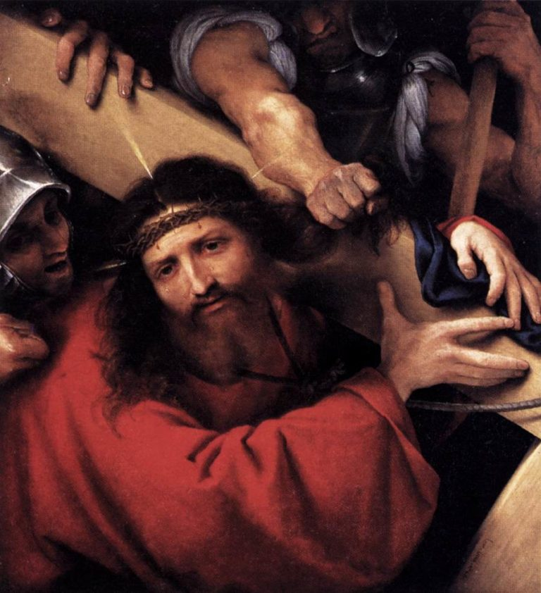 Christ Carrying the Cross 1526 | Lorenzo Lotto | oil painting