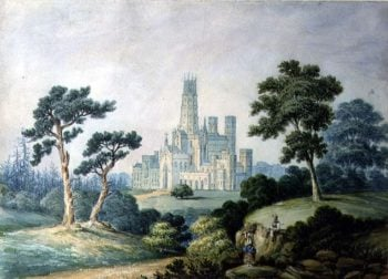 Fonthill Abbey | Francis Danby | oil painting