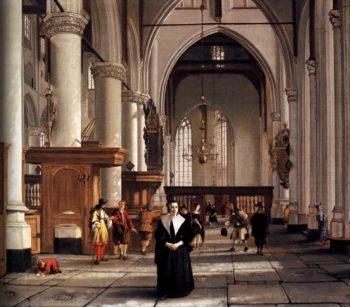 Interior of the Laurenskerk