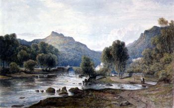 PD 9 1997 A View in Wales 1826 | Francis Danby | oil painting