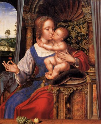 Virgin and Child 1529 | Quentin Massys | oil painting