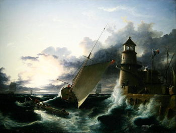 Shipwreck | Francis Danby | oil painting