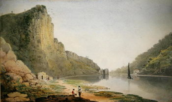The Avon Gorge | Francis Danby | oil painting