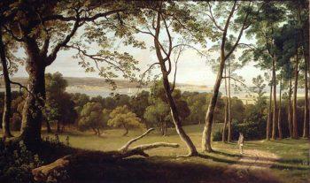 The Powderham Estate Devon | Francis Danby | oil painting