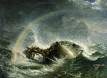 The Shipwreck 1859 | Francis Danby | oil painting
