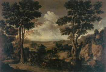 Landscape with Trees | Gaspard Poussin Dughet | oil painting