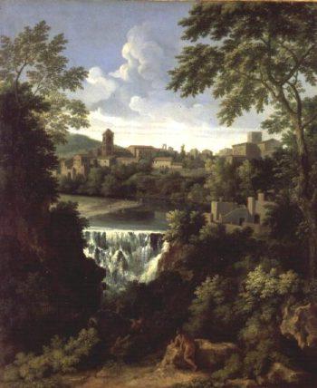 The Falls of Tivoli | Gaspard Poussin Dughet | oil painting