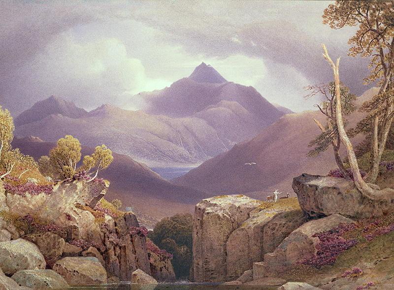 Ben Lomond | George Fennel Robson | oil painting